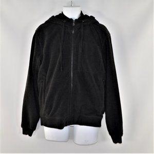 Hawke & Co Hooded Fleece Fur Lined Jacket medium
